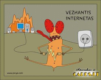 Vežantis internetas