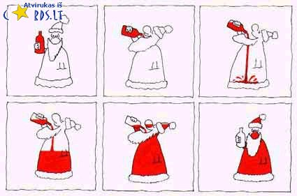 Kodėl Kalėdų senelis raudonas