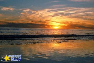 Saulėlydis jūroje
