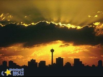 Saulėlydis mieste