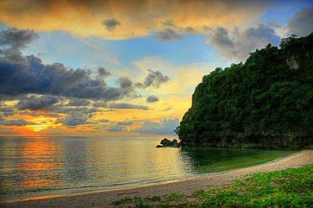 Saulėlydis saloje