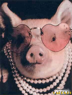 Pasaulis pro rožinius akinius
