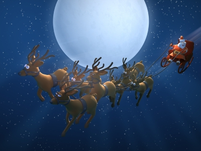 Santa skrenda