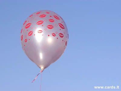 Balloon of kisses