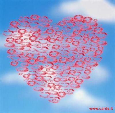 Širdis danguje